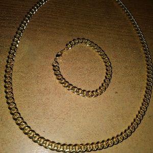 Other - 18k Necklace & Bracelet